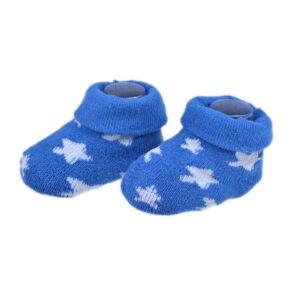 Sosete pentru nou nascuti, botosei bebe/bebelusi baietei, Dopo Dopo, albastru-alb-0