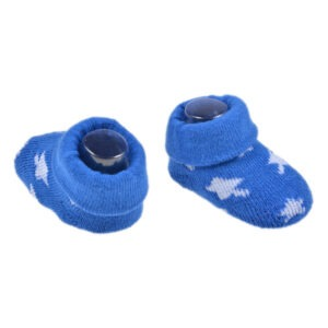 Sosete pentru nou nascuti, botosei bebe/bebelusi baietei, Dopo Dopo, albastru-alb-39406
