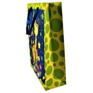 Punga cadou 3D, ambalaj cadou cu desen girafa, pentru copii, 42 x 30 x 12 cm, Maxx-38000