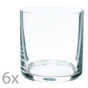 Set 6 pahare whisky cristal, Banquet Crystal, cristal, transparent, 450 ml-0