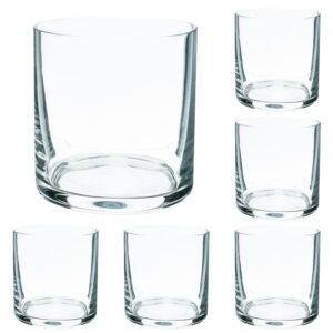 Set 6 pahare whisky cristal, Banquet Crystal, cristal, transparent, 450 ml-46648