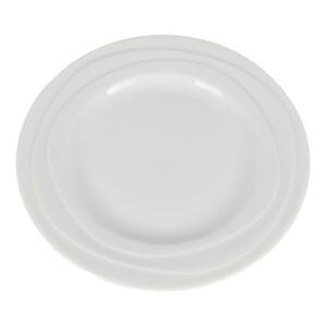 Farfurie ceramica, Jamie Oliver, farfurie aperitiv/fel principal, rotunda, d 21 cm, crem-49851
