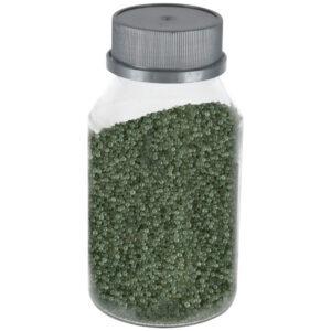 Perle sticla de decor, sticla ornamentala, cristale decorative, Rasteli, 250 g, verde, art. 1392.36-52715