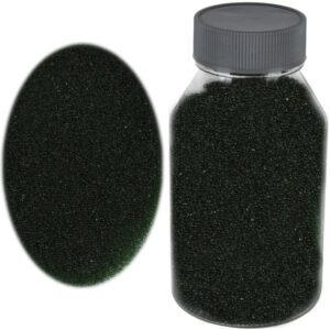 Perle sticla de decor, sticla ornamentala, cristale decorative, Rasteli, 250 g, dark green, art. 2696-0