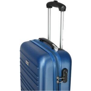 Troler cabina, model Compatible Air, PT by Quasar&Co., 55 x 34 x 20 cm, albastru-55625